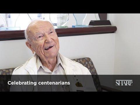 Sharp Senior Health Centers Celebrate Centenarian Patients
